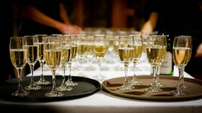 Coupes de champagnes pour nos cocktails et réceptions