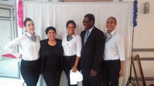 L'équipe de Maîtres d'hôtel